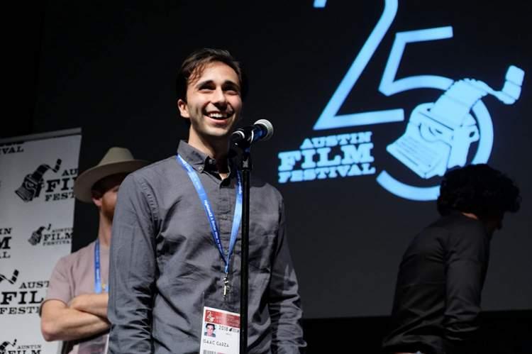 Isaac Garaz at Austin Film Festival