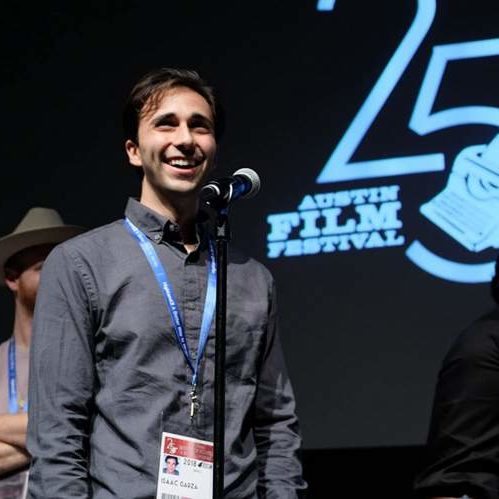 Isaac Garaz at Austin Film Festival